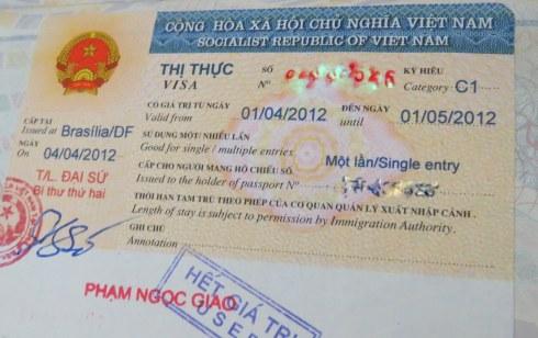 Visto vietna